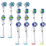 Aufsteckbürsten für Oral-B Elektrische Zahnbürste Pro Genius und Smart Series