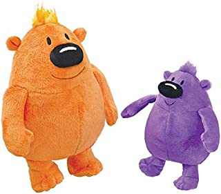 MerryMakers You Are (not) Small Plush Doll Pair, Set of 2, 6 and 9-Inch Each