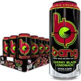 Bang Cherry Blade Lemonade Energy Drink, 0 Calories, Sugar Free with Super Creatine, 16 Fl Oz (Pack of 12)