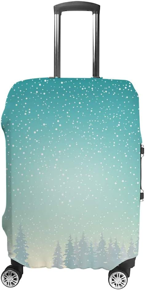 Travel Luggage Cover Suitcase Spring new work Limited Special Price Protector Snow Be luggage Suitable