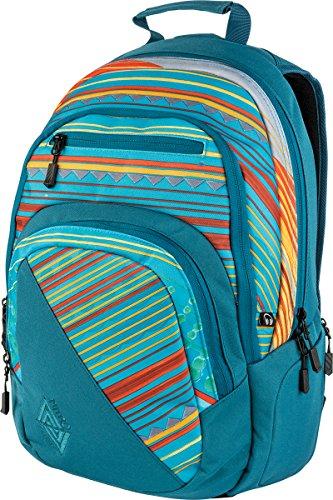 Nitro Stash Rucksack Schulrucksack Schoolbag Daypack Damenrucksack Schultasche schöne Rucksäcke Alltag Fahrradtasche, Canyon, 29L