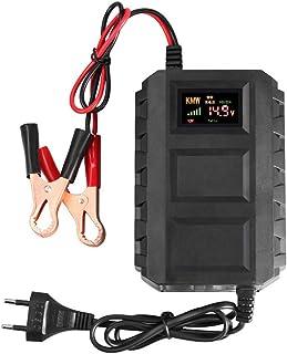 Houshome Carregador de bateria de ácido-chumbo inteligente 12V 20A para baterias automotivas para automóveis automotivos m...
