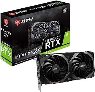 MSI GeForce RTX 3070 VENTUS 2X 8G OC LHR グラフィックスボード VD7720