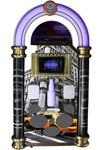 Strausser: Le Juke-Box Le Plus Complet avec Toutes Les fonctionnalités Audio d'aujourd'Hui. (New York Yellow Cab)