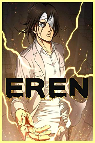 EREN: attack on titan season 4 final season eren mekasa armen riener levi erwin120 Lined Pages, 6 x 9 in, Anime manga Notebook journal diary
