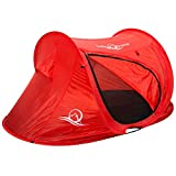 Lucky Bums Quick and Portable Camp Tent, Blue