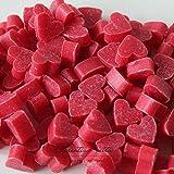 Florex Schafmilchseife mini mini Herz 100 Stück Hibiskus im Organzasäckchen Seife Gastgeschenk
