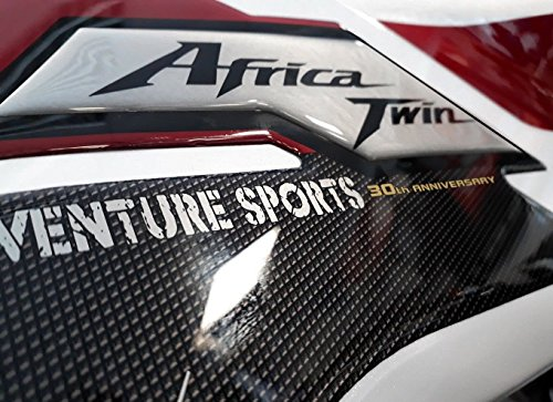 Price comparison product image 2 LATERAL PROTECTIONS 3D GEL compatible with MOTORCYCLE HONDA AFRICA TWIN ADVENTURE 2018
