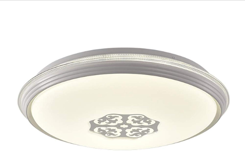 Einfache Und Moderne Led Wohnzimmer Deckenleuchte, Esszimmer Lampe Balkon Gang Lampe Decke, Acryl 3 Farbe Wohnzimmer Lampe Runde