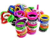 Vape Bands - Pack of 30 Vape Rings made with Silicone 21mm