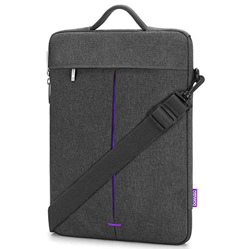 """Practical Fashion Multi Use Strap Laptop Sleeve Bag With Handle For 11"""" 13"""" 14"""" Inch Macbook Air/Notebook Computer Bag (Color : Grey Purple, Size : 11-inch)"""