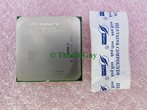 AMD Athlon II X4 630 2.8GHz 2MB L2 - Procesador (AMD Phenom II X4, 2,8 GHz, Socket AM3, 45 NM, 64 bits, 2 MB)