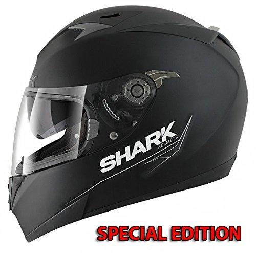 Shark Motorradhelm S900 Special Edition Motorrad Integralhelm L, Schwarz