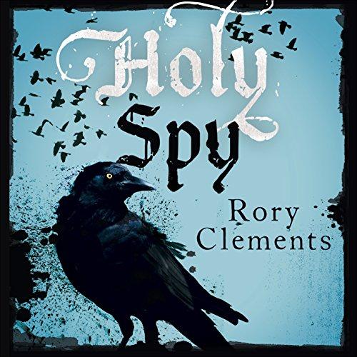 Holy Spy audiobook cover art