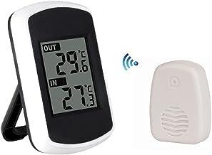 Pixnor Digital LCD termómetro de la temperatura interior y exterior