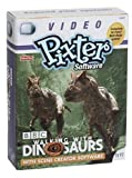 Fisher-Price Pixter Video Software BBC Walking with Dinosaurs with Scene Creator Software -