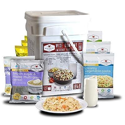ReadyWise Emergency Food Supply, Variety Pack, 25-Year Shelf Life, 104 Servings