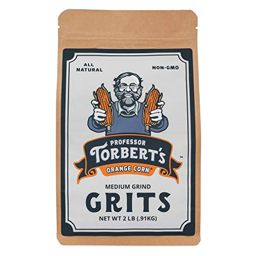 Professor Torbert's Orange Corn Grits | 2lb bag (32oz)