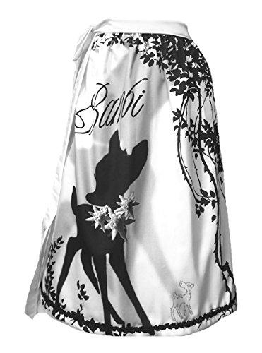 Schürzenliesl, Designer Dirndl Schürze Bambi, Strassbambi, Paillettenborte (70cm)