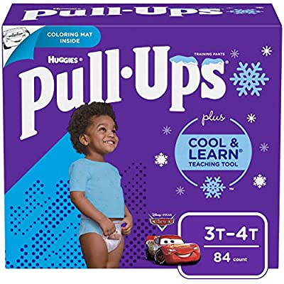 Pull-Ups Cool & Learn Boys' Training Pants, 3T-4T, 84 Ct by Pull-Ups