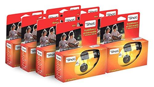 TopShot 400 Appareil Photo jetable avec Flash (Paquet de 8 Appareil Photo (27 Photos