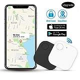 Kimfly Schlüsselfinder Anti-Lost Tracker, Bluetooth Tracker Wallet Telefonschlüssel Alarm Reminder für Telefon Haustiere Schlüsselbund Brieftasche Gepäck,etw.Item Finder Smart Tracker,2 Pack