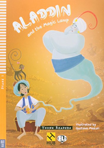Aladdin and the Magic Lamp - Série HUB Young ELI Readers. Stage 1A1 (+ Audio CD)