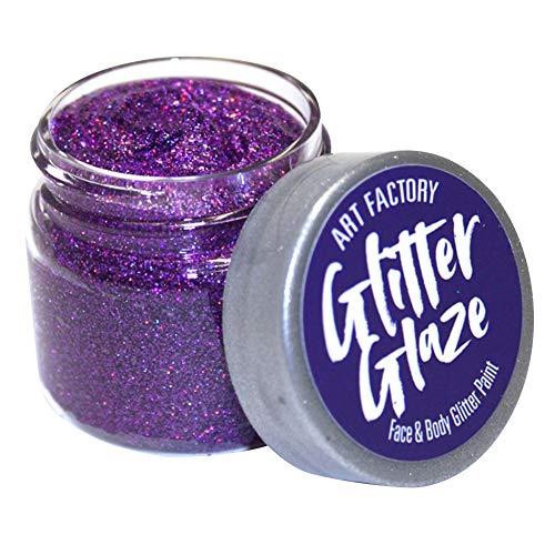 Art Factory Glitter Glaze - Violet (1 oz)