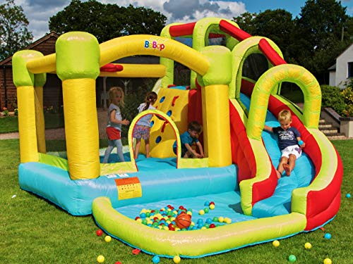 BeBoP 8 in 1 Bouncy Castle with Electric Blower Fan
