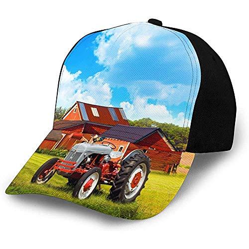 Snapback Cap Empresa Tractor Agrícola Moda Papá Sombrero Acogedor Trucker Hat Gorra De Béisbol Diseño Deportivo Durable Hiphop Pesca Adulto Personalizado Unisex Especial