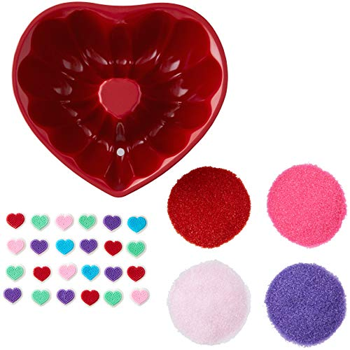 Wilton Heart-Shaped Tube Cake Baking and Decorating Set, 3-Piece