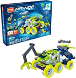 Mega Construx Magnext 5-in-1 Mag-Explorers Construction Set with Magnets, Magnetic Building Toys for Kids 138 Pieces