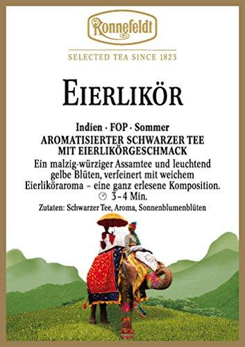 Ronnefeldt - Eierlikör - Aromatisierter Schwarzer Tee - 100g