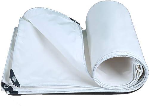 JEAQW Home bache imperméable bache bache de Prougeection Solaire Toile imperméable (Couleur   A, Taille   6X8M)