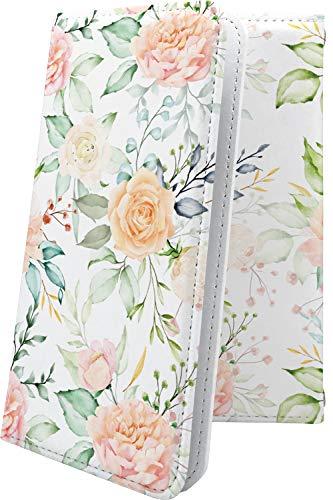 ケース ZenFone3 Max ZC520TL 互換 手帳型 花柄 花 フラワー フェミニン ゼンフォン3 マックス 和柄 和風 日本 japan 和 zenfone 3 zc 520 tl おしゃれ [AjC60271r52]