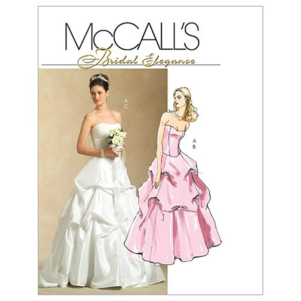 McCall's Patterns M5321 Misses' Lined Top and Skirts, Size AA (6-8-10-12)