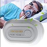 Laecabv Cleaner Ozone Ventilator Sterilizer Cleaner Disinfector Auto CPAP BPAP Disinfector Sanitizer Sleep Apnea Anti Snoring Air Disinfection Ozone Sterilization