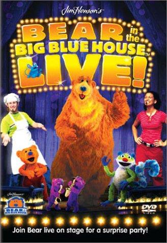 Bear in the Big Blue House Live [DVD] [Region 1] [US Import] [NTSC]