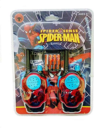 ToyUniverse Walkie Talkie with 2 Player System Toy for Kids - Spiderman