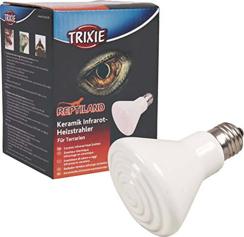 Trixie 76100 Keramik-Infrarot-Wärmestrahler, ø 75 × 100 mm, 50 W