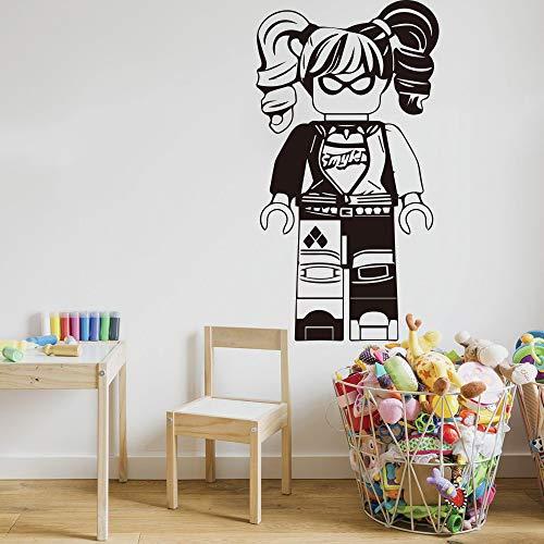 Batman muursticker kinderkamer Superman Girl Batman shirt Wall Quotes stickers 30.5x53.3 cm