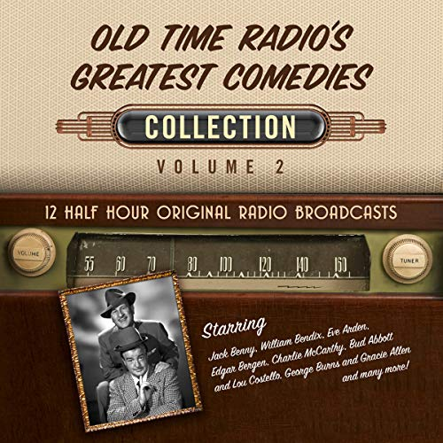 Old Time Radio's Greatest Comedies, Collection 2 audiobook cover art