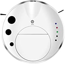 Ultra-Thin Robot Vacuum Cleaner, Sweep and Mop 2 in 1,with Drop-Sensing Technology, Strong Suction and Big Water Tank,Desi...