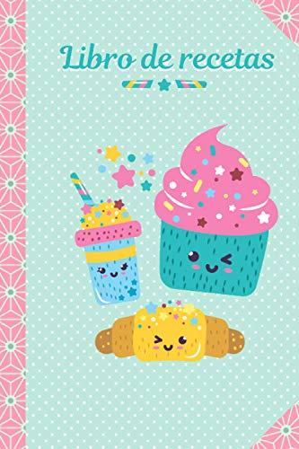 Libro de recetas: LIBRO DE RECETAS PARA NIÑOS - Libro de cocina infantil personalizado - 43 tarjetas de recetas para completar