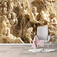カスタム3D壁紙ヨーロピアンスタイルの写真の壁の壁画リビングルームのテレビソファダイニングルームの家の装飾の壁画3D, 150cm×105cm