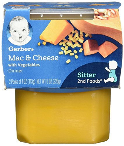 Gerber 2nd Foods Macaroni & Cheese with Vegetables Pureed Baby Food | Amazon