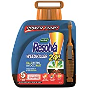 Resolva 24H Ready To Use Power Pump Weed Killer, 5 Litre