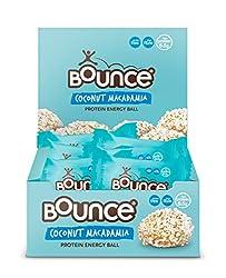 Bounce Coconut & Macadamia Protein Balls, 40g