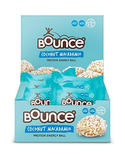 Bounce Coconut and Macadamia Protein Bliss Energy Balls 40 g