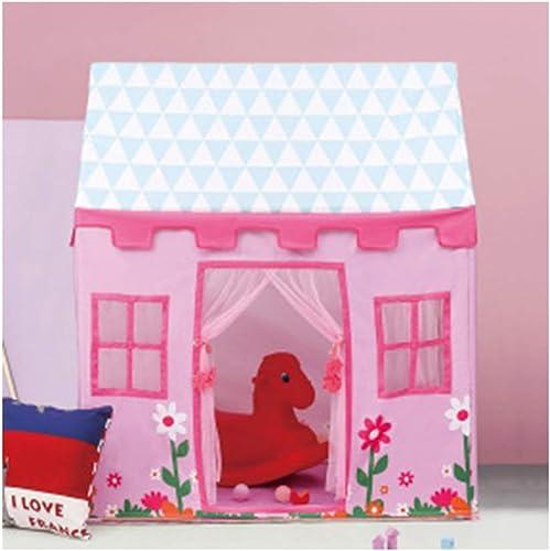 últimos estilos LZNK Carpa para Niños Baby Crawl Túnel Túnel Túnel Juego Casa Interior Princesa Juguete Carpa Regalo de cumpleaños-D  directo de fábrica